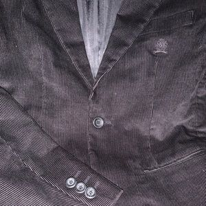 Tommy Hilfiger Boys size 14 twine suede dress coat